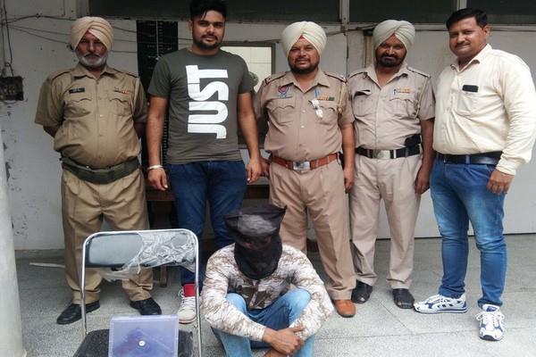 pistols arrested