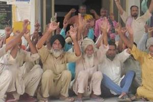 drug patients protested by not receiving medication