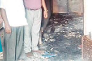 fire at home due to short circuit