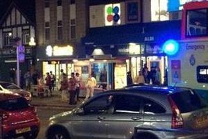 london shooting 3 people injured
