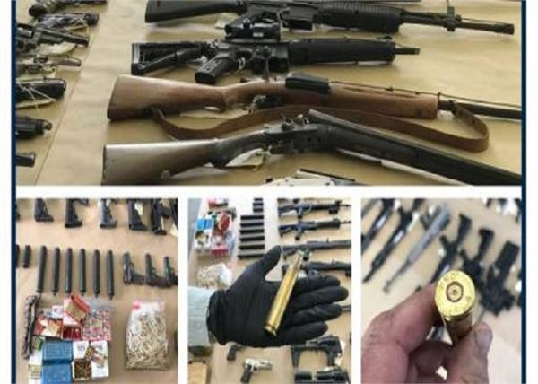 guns drugs millions in cash and jewelry seized gangs