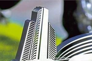 sensex recovers 235 points