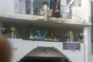 haryana temple attack