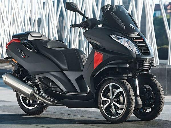 mahindra owned peugeot launched three wheeler scooter