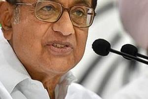 chidambaram targeted the modi government