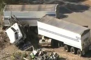 truck driver charged crash killed mother and her son in western australia