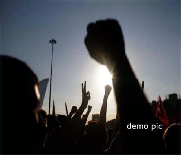 dinanagar  pulwama attacks  terrorism  protest