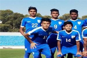 indian under 16 football  istanbul cup turkey oman