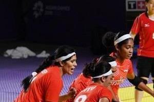 asian games  indian men and women  s kabaddi team in semi finals
