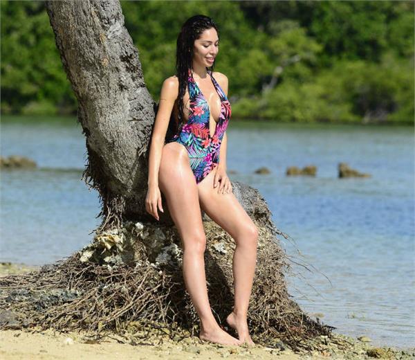 Pics : ਸਵਿਮਸੂਟ 'ਚ ਹੌਟ ਪੋਜ਼ ਦਿੰਦੀ ਨਜ਼ਰ ਆਈ ਅਮਰੀਕਨ ਅਦਾਕਾਰਾ