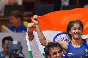 asian games vinesh phogat wins second gold for country