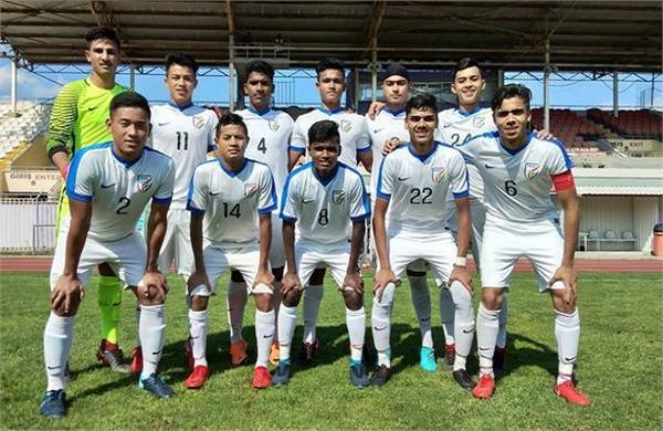 indian under 16  oman defeated india 2 1