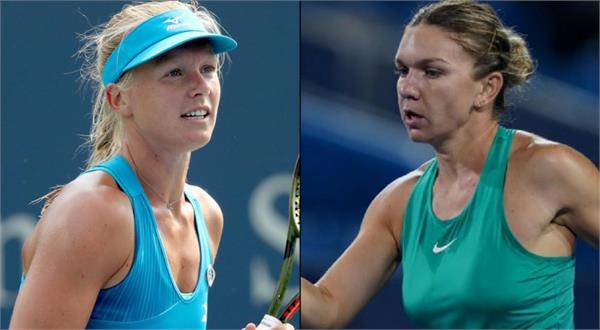 women  s singles will be between the final kiki and simona
