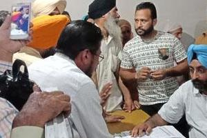 tehsil complex protest