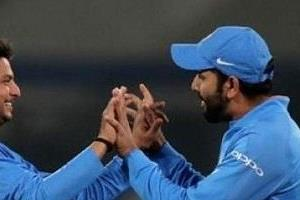 kuldeep  second indian bowler to reach the fastest 50 wicket haul