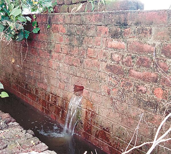 clean water leakages
