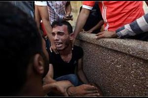 firing on protesters in gaza  2 killed  46 injured