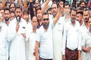 bsp ambedkar protest demonstration