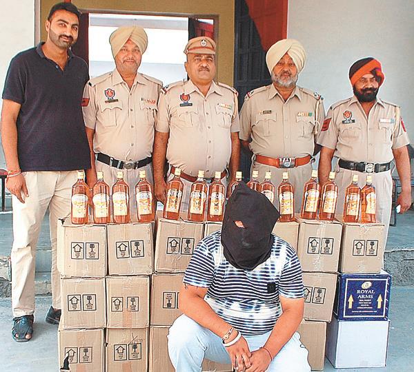 illicit liquor arrested