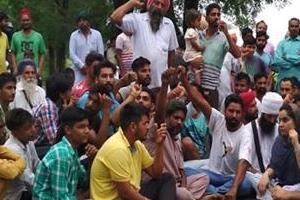 talwandi sabo  rajabahe  farmers  bathinda delhi highway