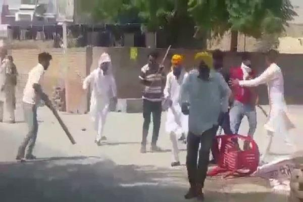 akali congress fight