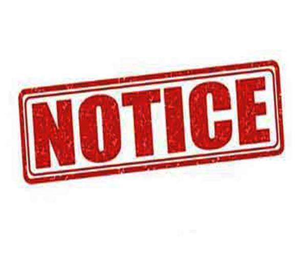illegal buildings  notices
