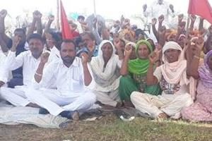 bhikhiwind  rural labor party  entered in the 23rd day