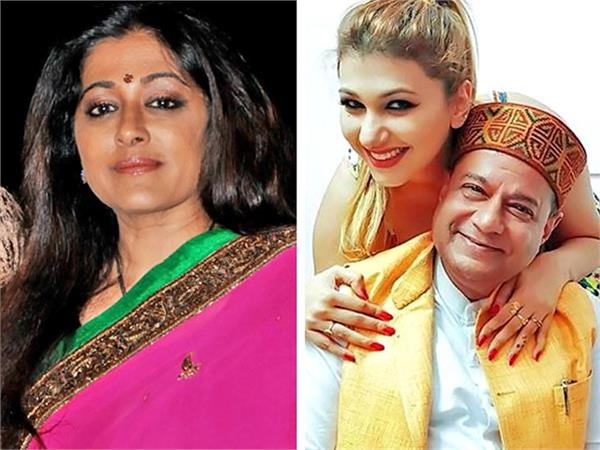 anup jalota first wife reaction