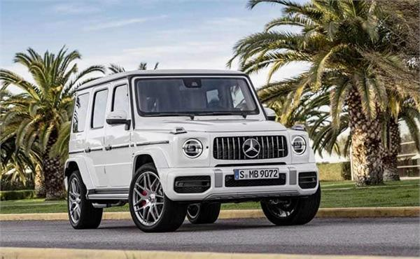 mercedes amg will be launching the new g63 in india on october 5  2018