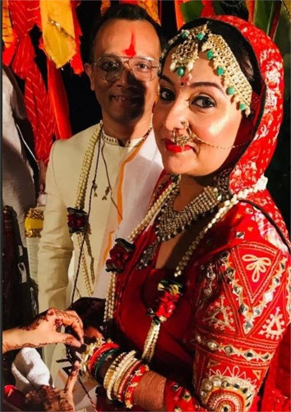 suchita trivedi marriage
