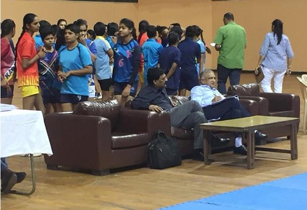 asian kabaddi teams did not arrive the match became a show