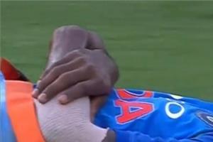pandya was injured while bowling