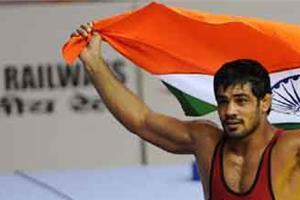 wrestler sunil has made india the gold medal