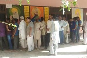 peacefully completed block samiti and zilla parishad elections