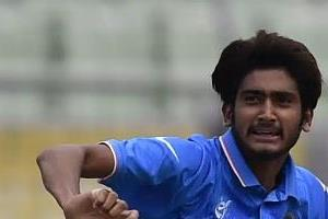 khalil became the 222nd odi player of india