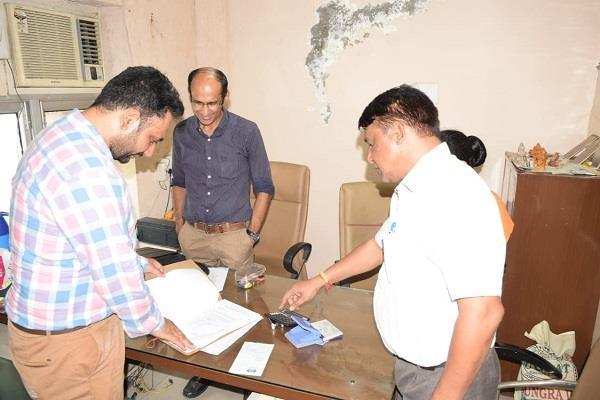 shaurya green tower  excise department raids
