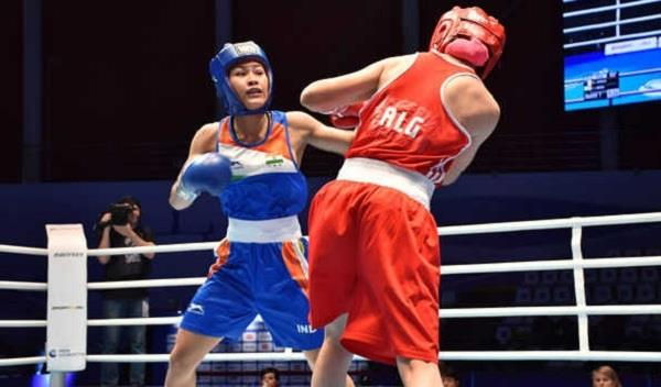 lavalina jamuna wins  5 boxers in quarterfinals
