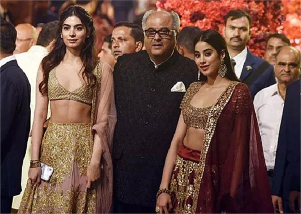 janhvi kapoor to collaborate with father boney kapoor for bombay girl