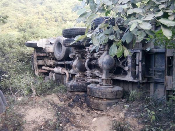 oil tanker accident in garhshankar