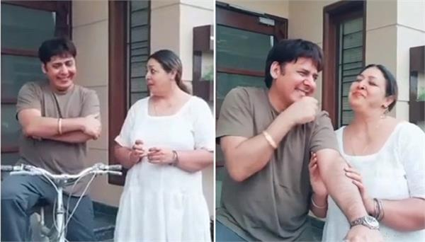 anita devgan and sudesh lehri tiktok video viral on social media