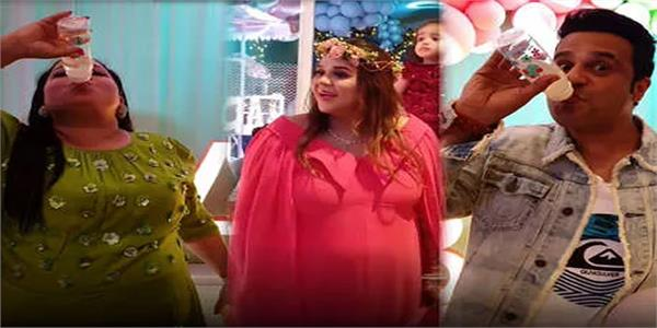 kapil sharma  s wife  ginni  s baby shower