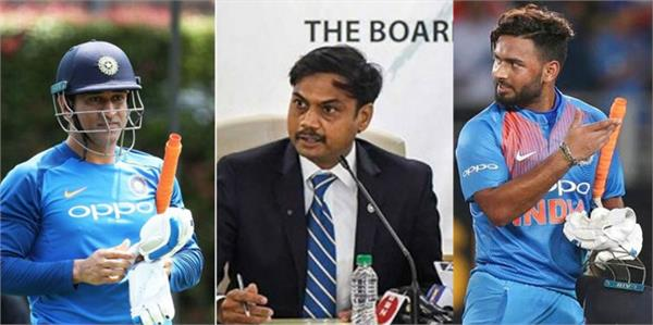 we will back pant and dhoni is on same page with selectors prasad