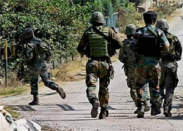terrorist attack on crpf camp in budgam  three soldiers injured