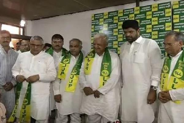 satpal singh and ishwar singh joins jjp