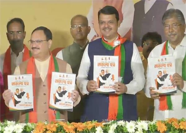 maharashtra assembly elections bjp manifesto job