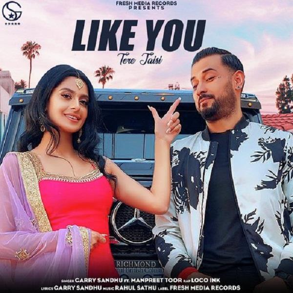 garry sandhu new song like u out now