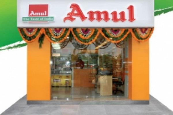amul cafes now open in villages