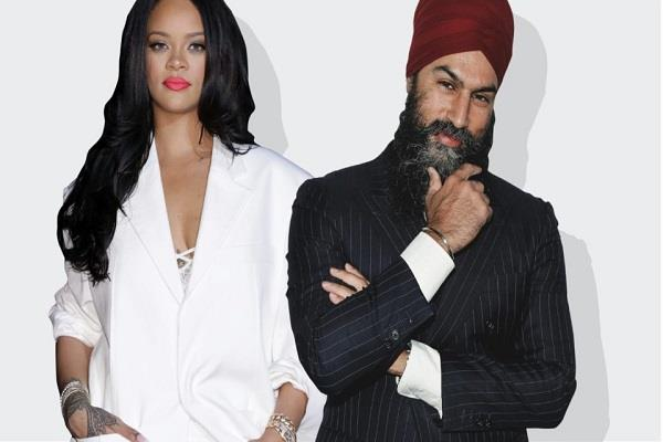 rihanna just followed this canadian party leader on insta