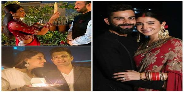 bollywood actresses celebrate karva chauth festival