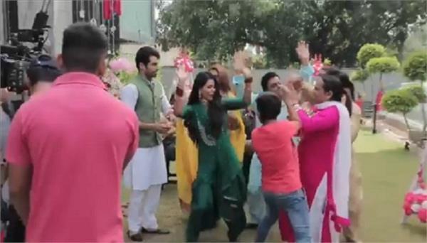 sonam bajwa share making video film adab mutiyaran